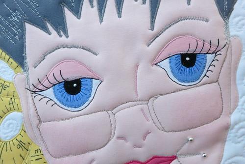 Maria's pretty eyes