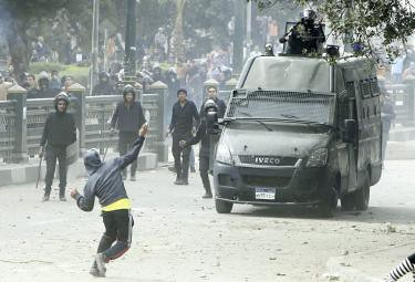 Clashes in Port Said after funeral of those killed in recent fighting. President Morsi has declared a state of emergency in the country. by Pan-African News Wire File Photos