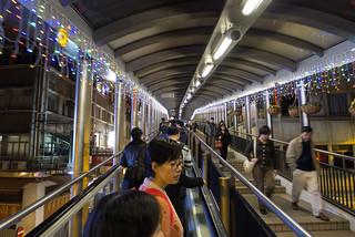 Mid-levels escalator