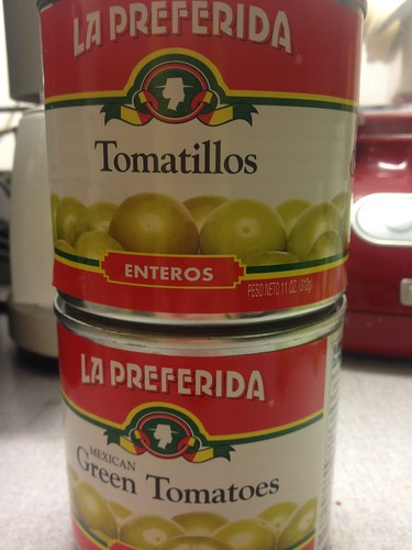 Canned Tomatillos