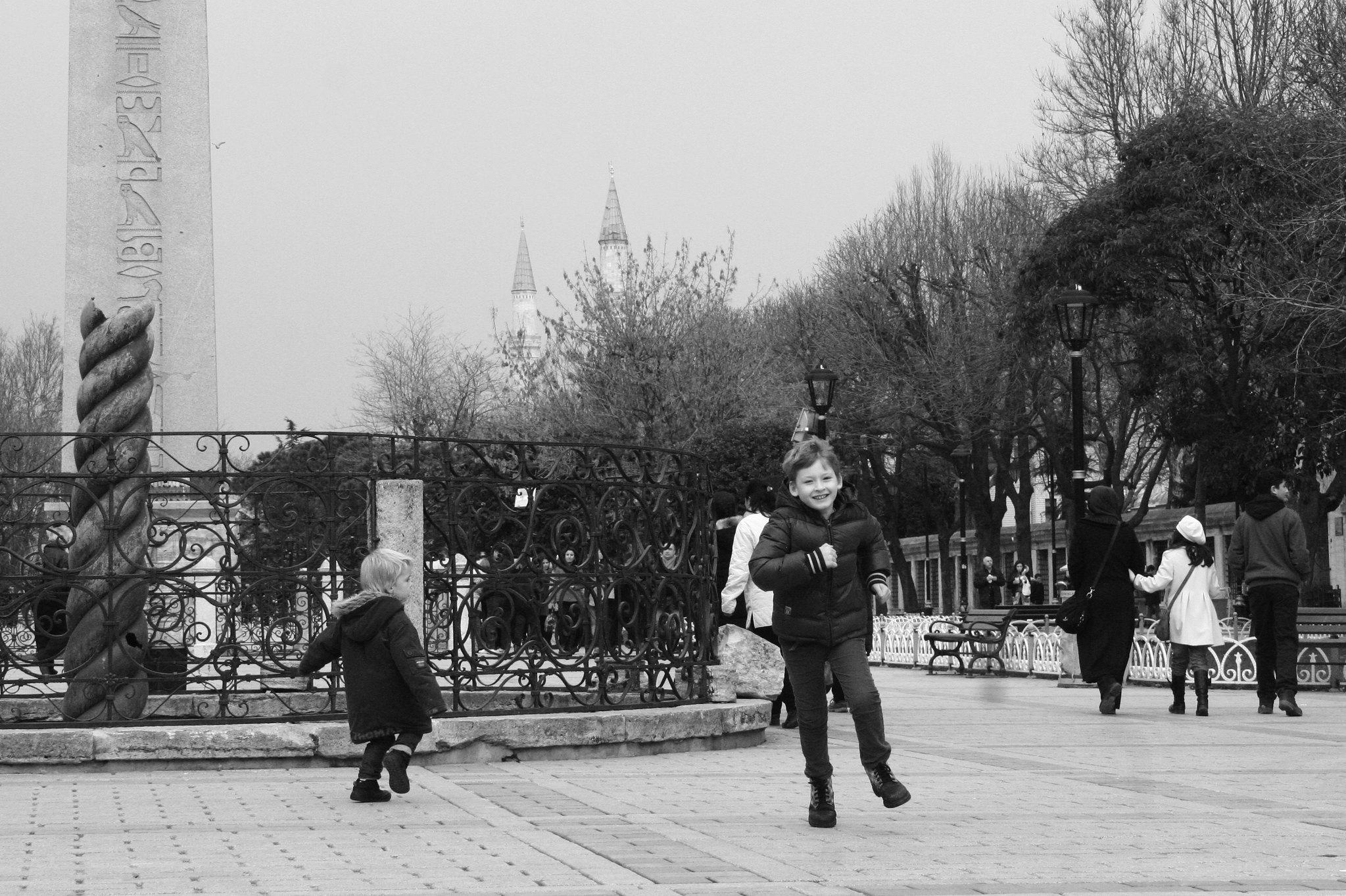 Running around the Hippodrome