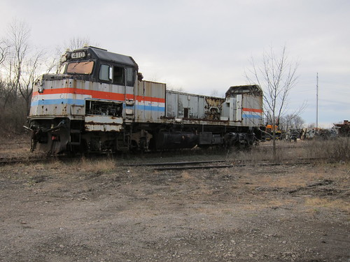 graveyard go amtrak transit views scrap f40 410 500000 f40ph ltex