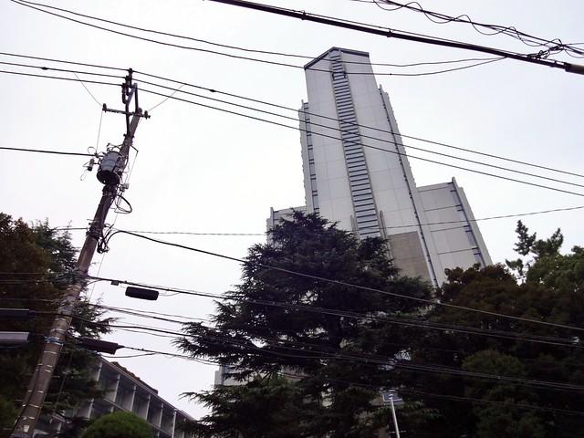 Photo:Kokugakuin University, Shibuya Campus: Wakagi Tower By Dick Thomas Johnson