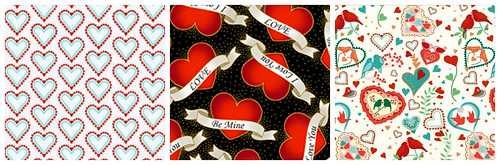 4my3boyz Valentine Fabric Collage