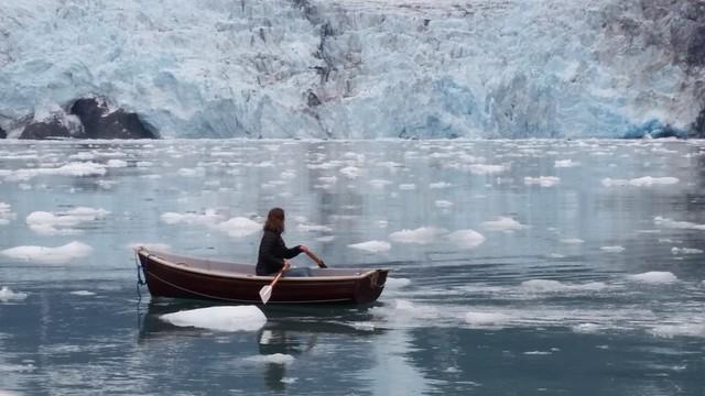 Rowing Roaring Glacier