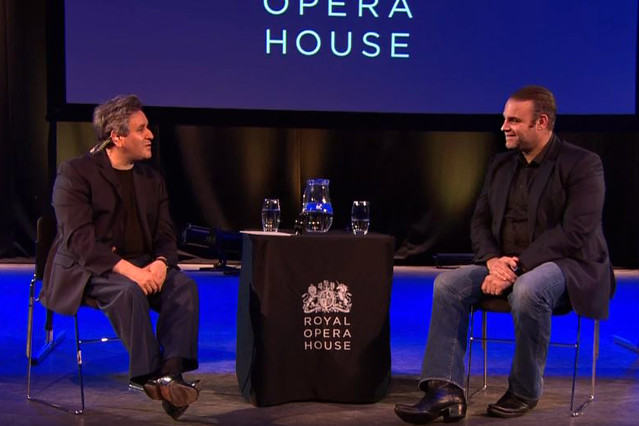 Joseph Calleja and Antonio Pappano discuss Norma as part of ROH Insights