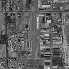 aerial view mettetal airport