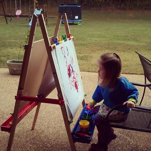 painting fun. @farmingood