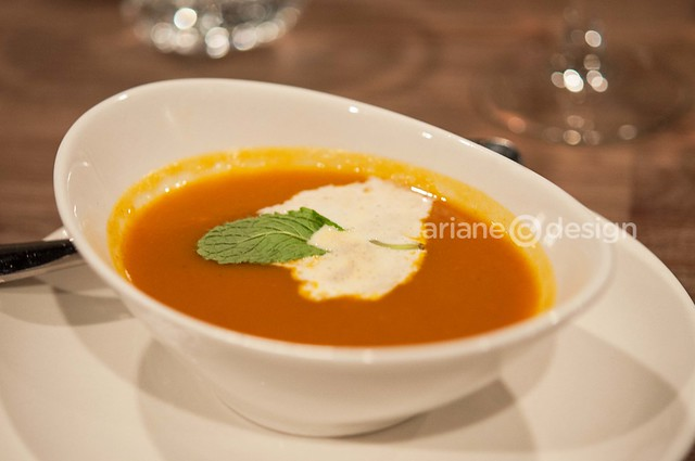 Kaya Malay Bistro/squash & apple curry bisque