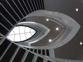 Chicago, Museum of Contemporary Art, Staircase Abstract
