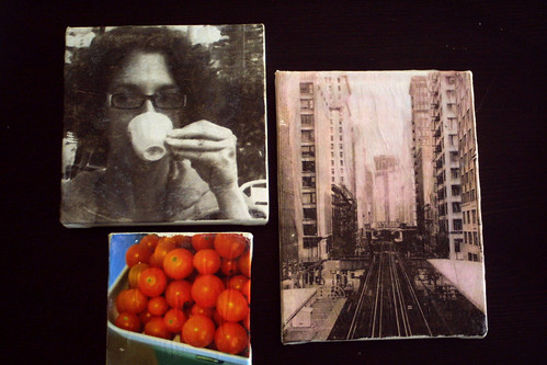 Examples of b&w and color images using laserjet and inkjet
