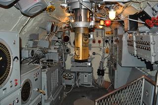 Battleship Memorial Park (275) USS Drum SS-228 - conning tower