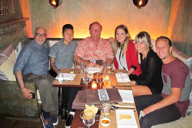 Dinner w/ Steve Van Doren