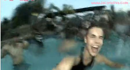 4 Justin Bieber clip from leaked Video at pool party ... | 449 x 243 jpeg 23kB