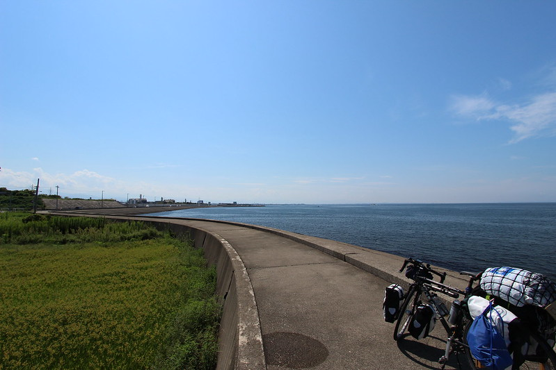 海沿いの道で富山へ その3