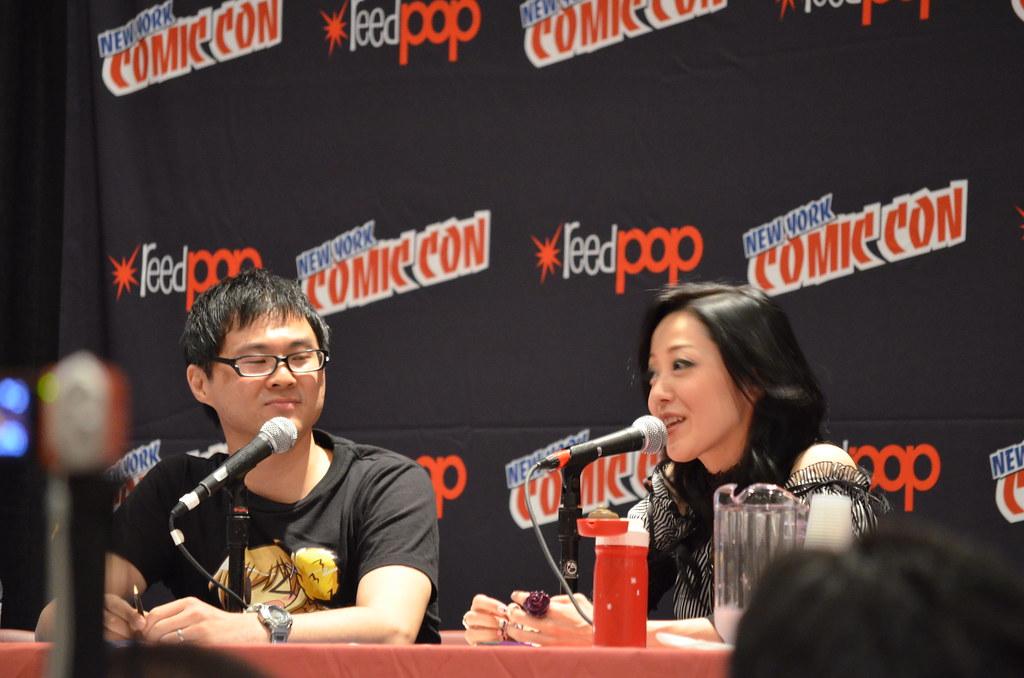 New York Comic Con 2012 Yu Asakawa & Danny Choo