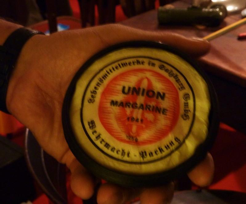 musée seconde guerre mondiale, la rochelle, objets, margarine
