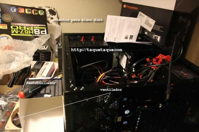Fotos del montaje/instalación (casi paso a paso) de mi nuevo PC DIY by Taqué-Taqué