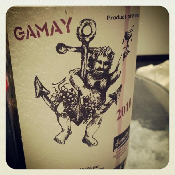 今日買ったワイン。ジャケ買い。