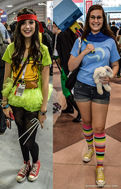 Girls at NY Comic Con