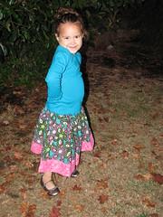 Delani's Corduroy Skirt 1