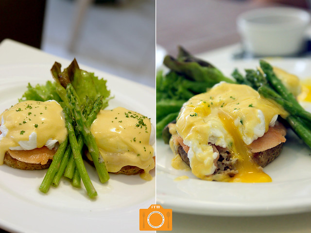 The Cake Club Smoked Salmon Benedict