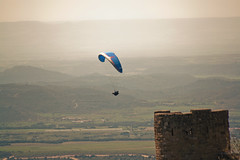 hot air balloon(0.0), sea(0.0), hot air ballooning(0.0), toy(0.0), paragliding(1.0), parachute(1.0), air sports(1.0), sports(1.0), parachuting(1.0), windsports(1.0), extreme sport(1.0), sky(1.0), flight(1.0),
