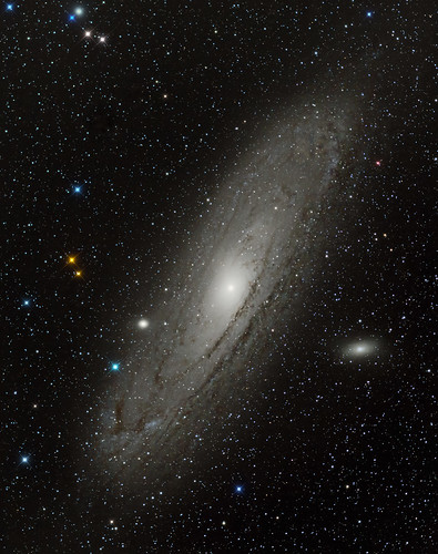 M31 1hr52min ISO1600 1min subs by Mick Hyde