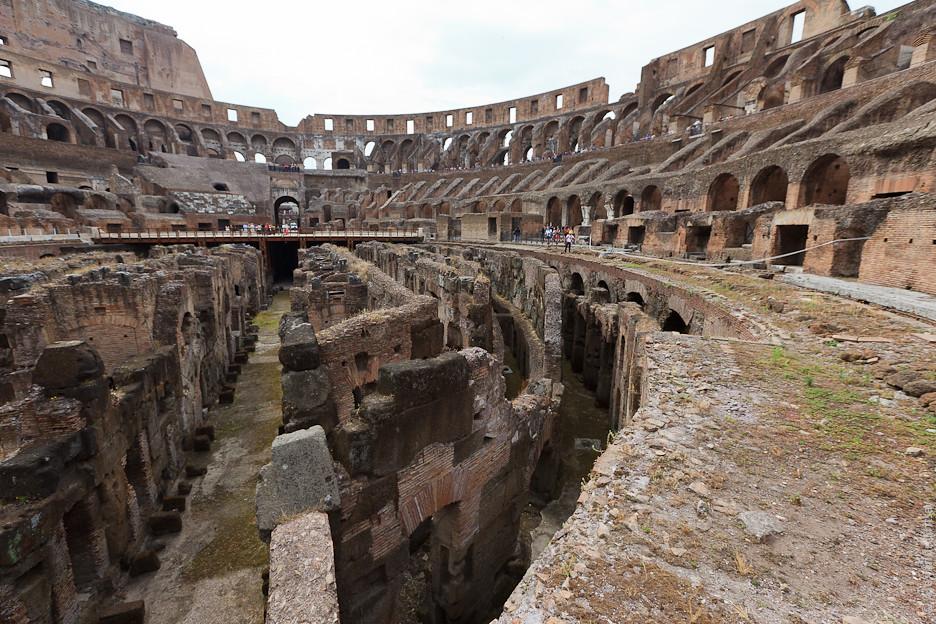 Колизей явился театром пышных зрелищ