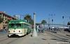 MUNI F-LINE CARS--1006 lv Brannan Station IB by milantram