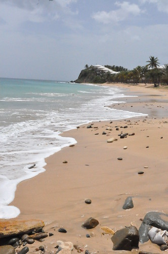 curtain bluff beach by franbanks1 ( Now run out of rum :( )