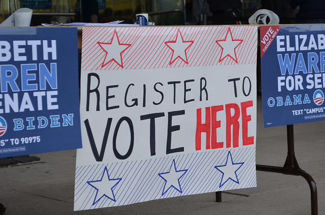 Boston Don't Forget to Register To Vote