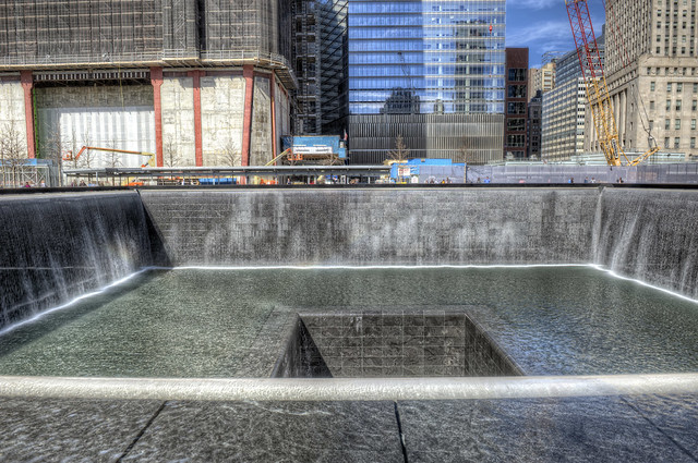 Reflecting pool at ground zero hdr flickr photo sharing - Ground zero pools ...