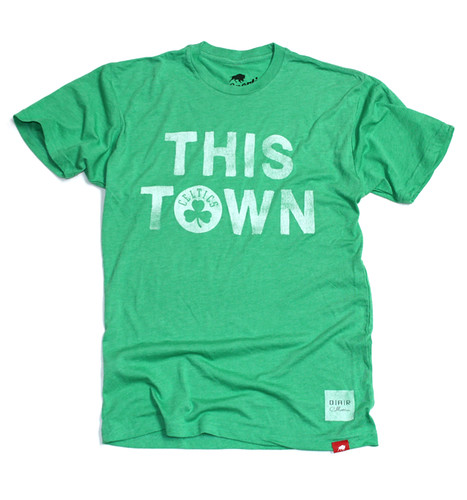 Boston Celtics This Town T-Shirt ( OAR Collective) By Sportiqe Apparel