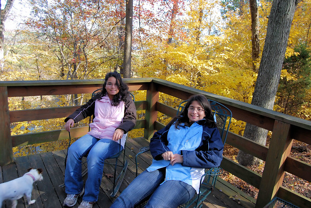 Fall fun at a Staunton River State Park cabin