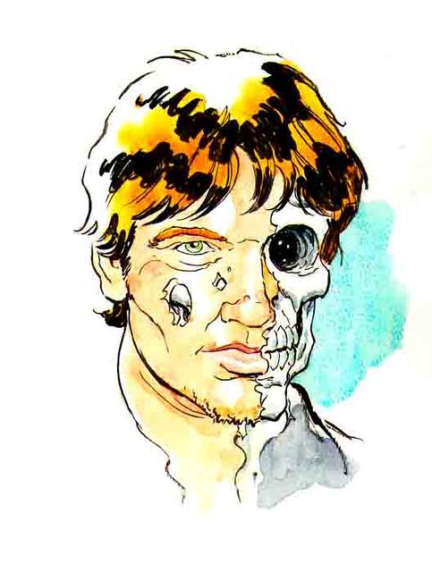 Halloween self portrait