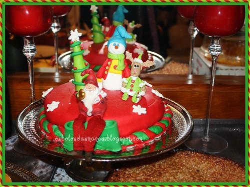Bolo de Natal 2011 by Osbolosdasmanas