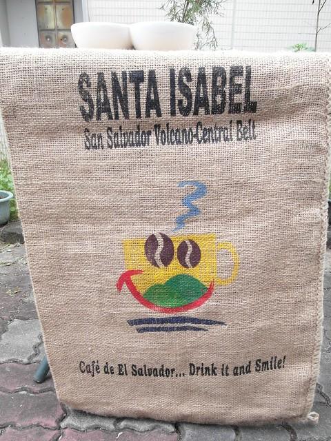咖啡豆的麻布袋好有味道