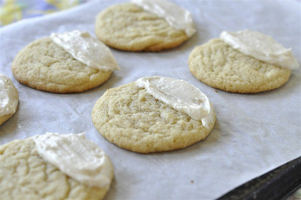 Candy Corn Sugar Cookie
