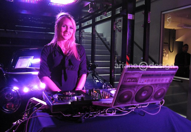 Girl on Wax DJ Aimee Hawker