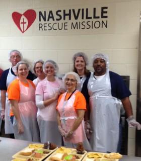 Corizon employees volunteer at Nashville Rescue Mission