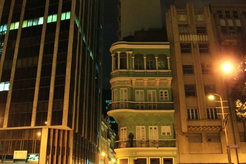 Último prédio de estilo colonial na Avenida Rio Branco