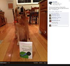 Adin Miller's Dog Sadie