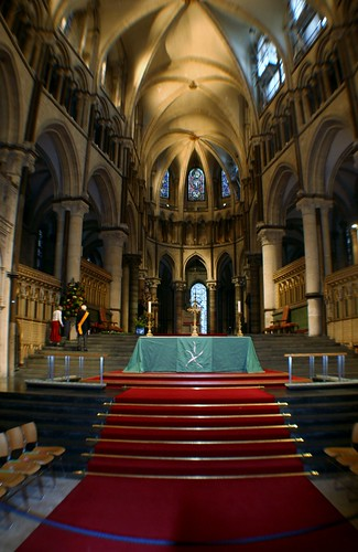 Inside Canterbury Cathedral, England
