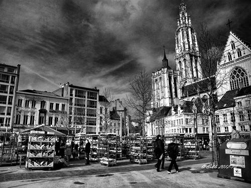 Antwerp b&w