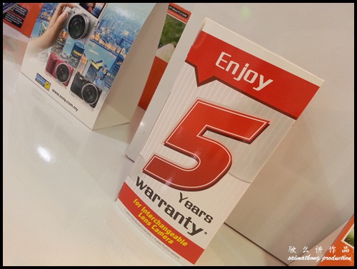 1+4 years warranty - Interchangeable Lens Camera Promotion by SenQ