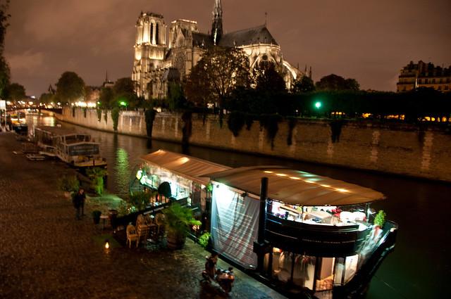 Notre Dame Boat