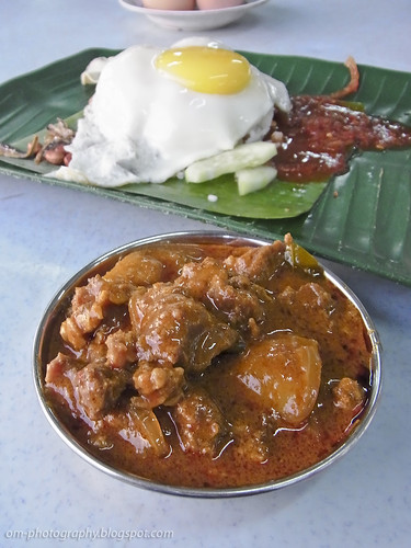 mutton curry and nasi lemak, taman sri sinar segambut R0019213 copy