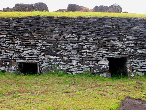 Entradas a viviendas restauradas de 'ORongo