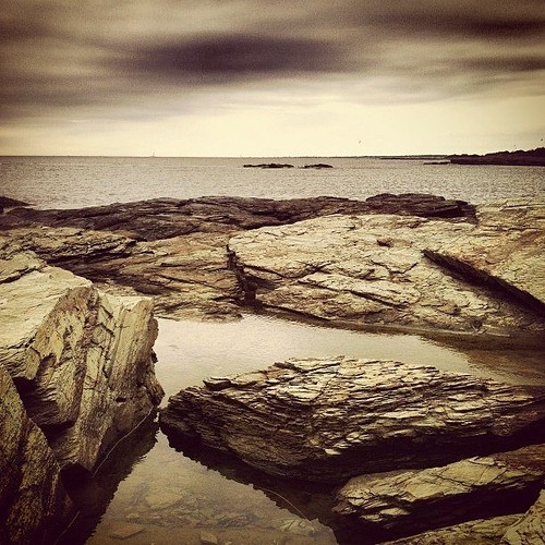King's Beach, Newport, RI by Dragonfly Island